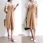 เดรสเกาหลี พร้อมส่ง New 2 Tone Dress thumbnail 1
