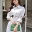 เดรสเกาหลี สวยเก๋ลุคสาวสมาร์ท พร้อมส่ง thumbnail 6