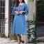 ชุดเดรสแฟชั่น พร้อมส่ง Dress ผ้ายีนเนื้อนิ่ม thumbnail 11