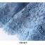 เดรสเกาหลี พร้อมส่ง เดรสผ้าลูกไม้เนื้อดี สีฟ้าเข้ม thumbnail 17