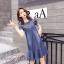 พร้อมส่ง DRESS JEAN FROM KOREA คอกลม thumbnail 8