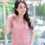 เสื้อเกาหลีลูกไม้อิตาลี่ คอกลม แขนสั้น พร้อมส่ง thumbnail 16