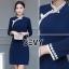 พร้อมส่ง Dress คอจีน ทรงสวย thumbnail 6
