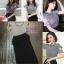 เสื้อผ้าเกาหลี พร้อมส่ง เสื้อแขนเว้ากับกระโปรงไหมพรม thumbnail 6
