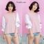 เสื้อเกาหลี ทรูโทนสีสลับ พร้อมส่ง thumbnail 8