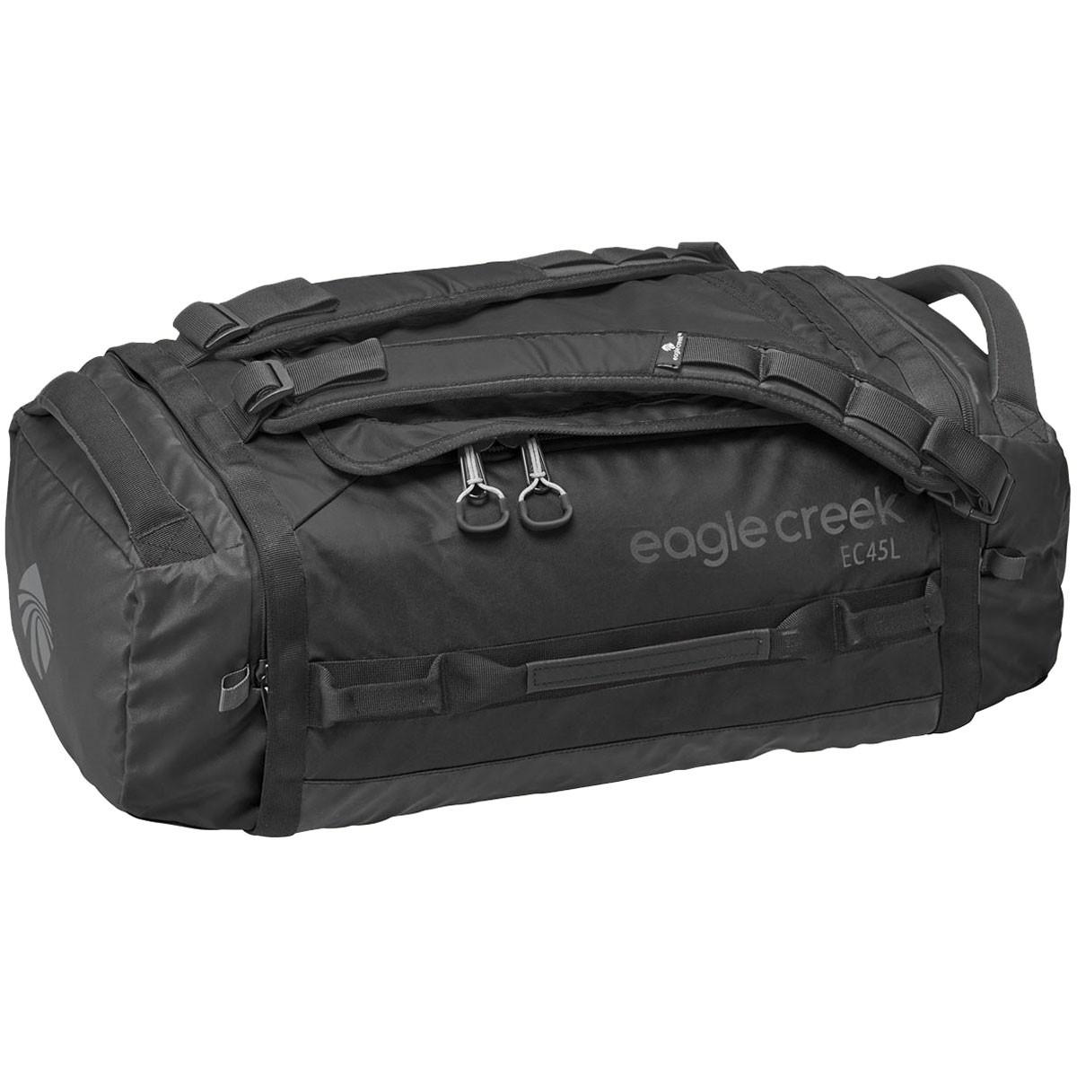 EAGLE CREEK - กระเป๋า Duffel รุ่น Hualer ไซส์ S สีดำล้วน ความจุ 45 ลิตร