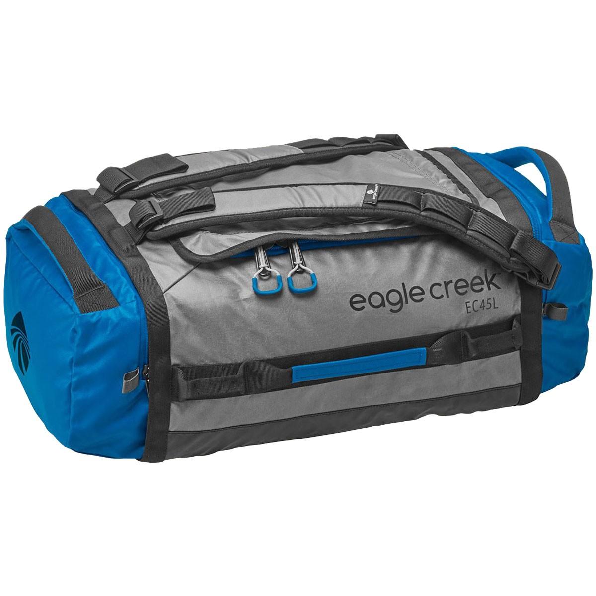 EAGLE CREEK - กระเป๋า Duffel รุ่น Hualer ไซส์ S สีเทาน้ำเงิน ความจุ 45 ลิตร
