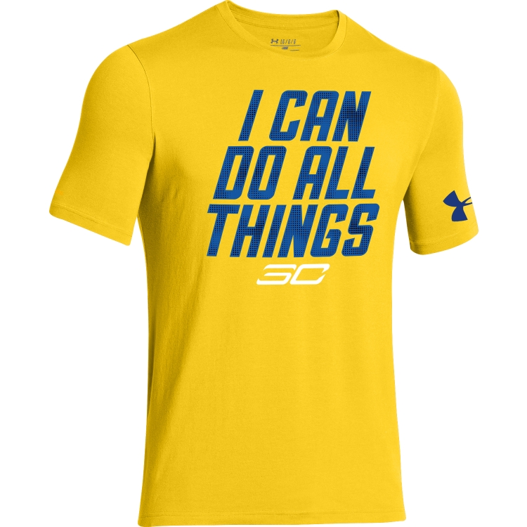 "Under Armour - เสื้อ Under Armour Curry SC30 ""I CAN DO All Thing"" สีเหลือง"