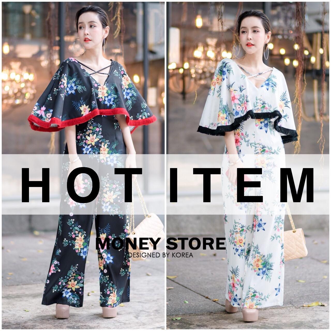 เสื้อผ้าเกาหลี พร้อมส่ง Kloset จั้มสูดสุดไฮคลาส