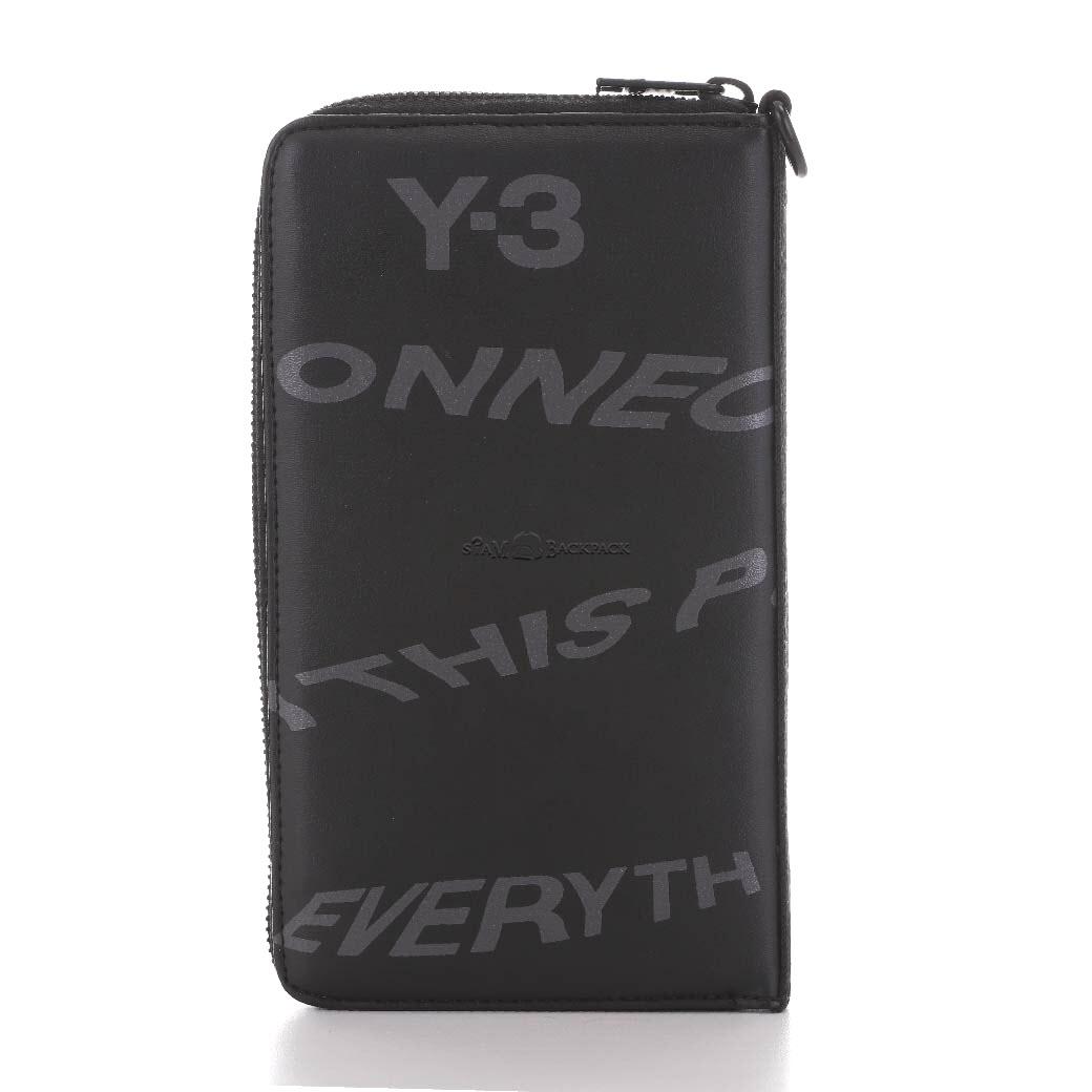 "Y-3 ""Yohji Yamamoto adidas"" - Long Wallet Logo print Adidas STYLE"