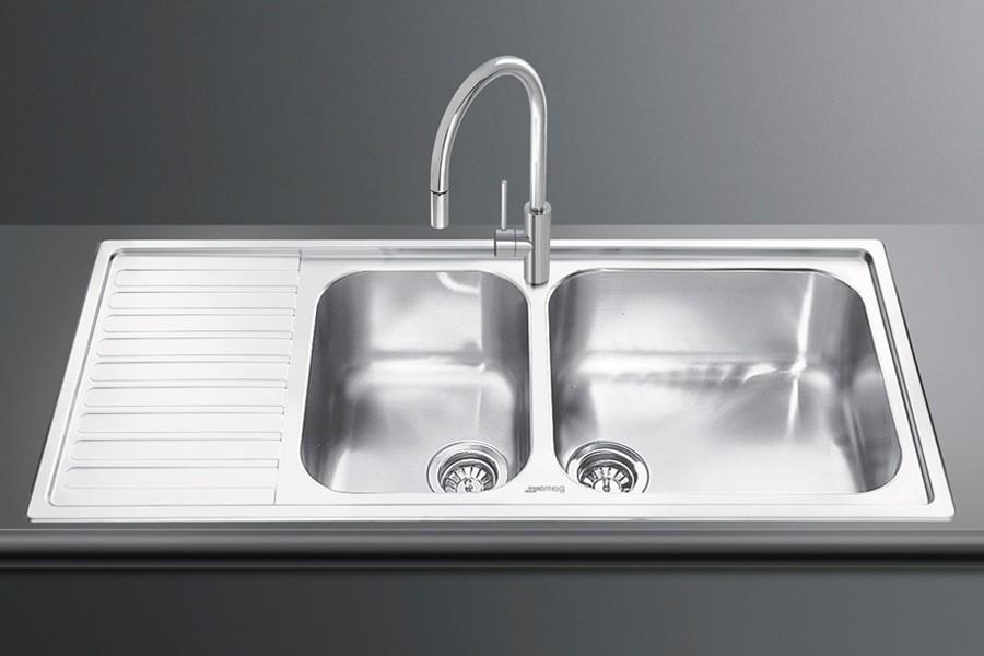 อ่างล้างจาน Smeg รุ่น LG116S-2