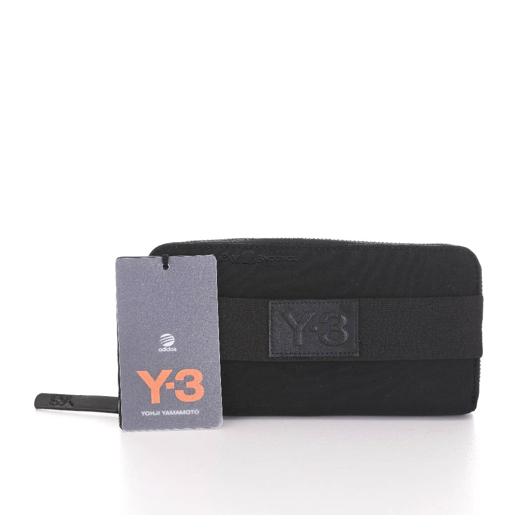 "Y-3 ""Yohji Yamamoto adidas"" - Matte Logo Travel Black"