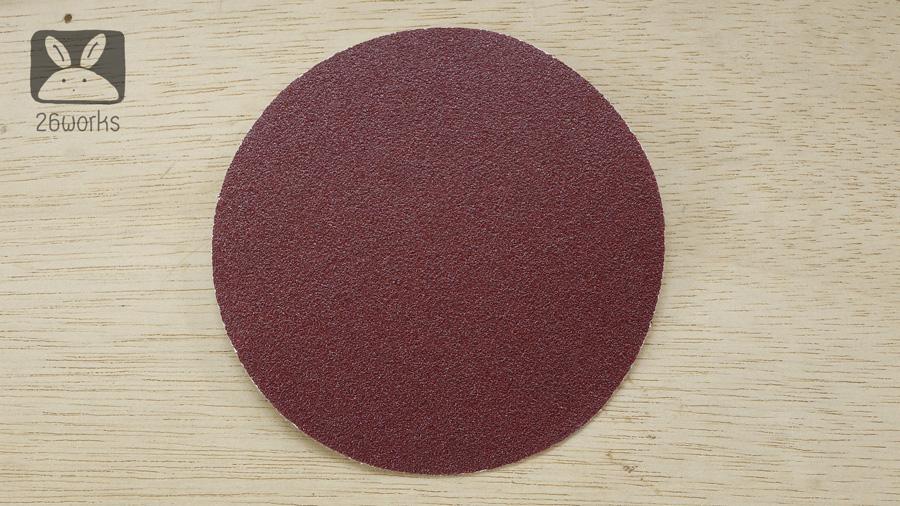 กระดาษทรายกลม 4 นิ้ว ชุดละ 50 แผ่น เลือกเบอร์ด้านใน
