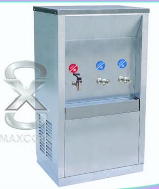 ตู้ทำน้ำร้อน-น้ำเย็นสแตนเลส Maxcool รุ่น MCH-3P