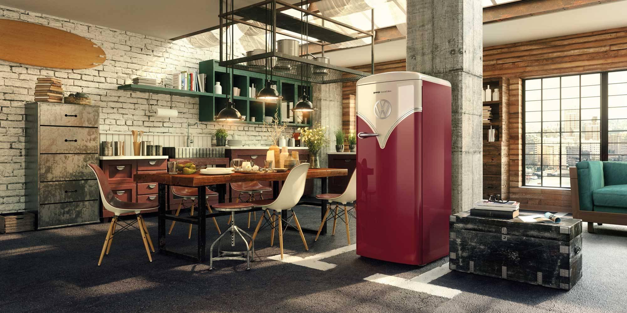 ตู้เย็น GORENJE รุ่น OBRB153R