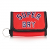 Superdry - Superstar wallet สีแดง