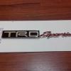 Logo TRD Sportivo งานโลหะ