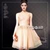 เดรสเกาหลี พร้อมส่ง Dress ชุดกระโปรงแขนกุด