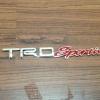 Logo TRD Sportivo งาน พลาสติกชุบ