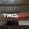 Logo TRD Sports ขาว งานโลหะชุป