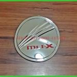 ฝาถังโครเมี่ยม MU-X logoแดง