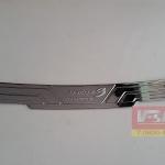 กันรอยท้ายโครเมี่ยม Mazda3 2014 5ประตู งานOPT2