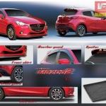 Mazda2 Skyactive 5ประตู V1 ชุด 4ชิ้น