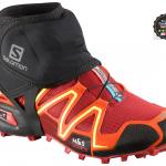 Salomon - trail gaiters low (ชุดรัดข้อเท้า กันพลิก) สีดำล้วน