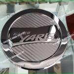 6033 ครอบฝาถังเคฟล่า New Yaris 2014 up