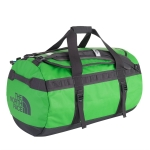 The North Face - Base Camp Duffel size M สีเขียว สายดำ