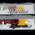 Logo TRD Sportivo แท้่เบิกห้าง Fortuner