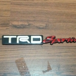 Logo TRD Sportivo งาน พลาสติก