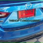 9007 กันรอยท้ายเคฟล่า Mazda2 4ประตู