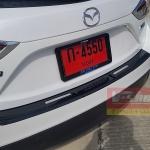 กันรอยท้ายเคฟล่า Mazda3 2014 5ประตู