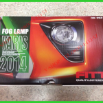 ไฟตัดหมอก FITT พร้อมครอบโครเมี่ยม New YARIS 2014