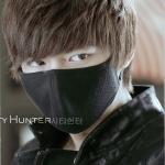 ผ้าปิดปากสีดำ Lee min ho / City Hunter