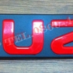 โลโก้แดง ISUZU สำหรับ New D-max