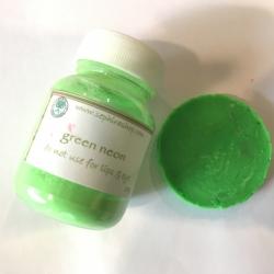 Green Neon ผงไมก้าสีนีออนสีเขียว